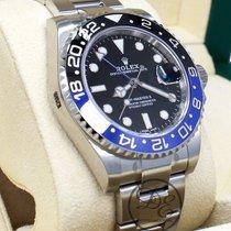 Rolex Gmt-master II 116710 Blnr Batman Ss Black & Blue Ceramic...