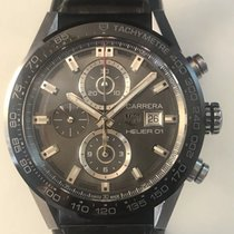 TAG Heuer 43mm Automatic pre-owned Carrera Calibre HEUER 01