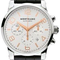 Montblanc Timewalker Acero 43mm Plata Árabes