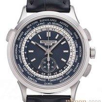 Patek Philippe World Time Chronograph Weißgold 39,5mm Blau Keine Ziffern Deutschland, Bietigheim-Bissingen