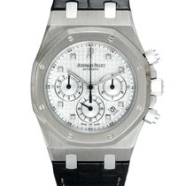 Audemars Piguet Royal Oak Chronograph White gold 39mm Silver