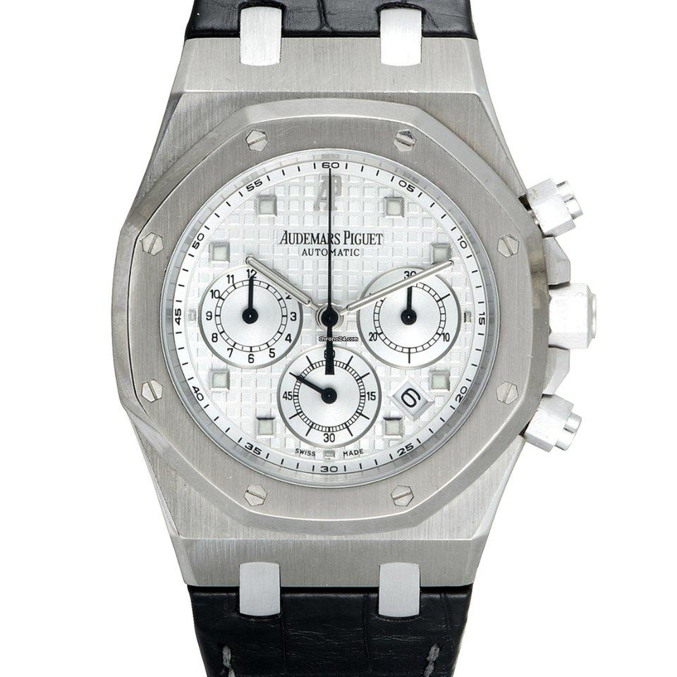 44797b833521 Audemars Piguet Royal Oak White gold - all prices for Audemars Piguet Royal  Oak White gold watches on Chrono24