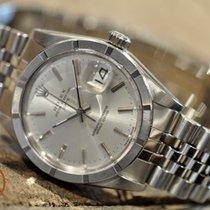 Rolex Oyster Perpetual Date Staal 34mm Zilver Geen cijfers Nederland, Barendrecht