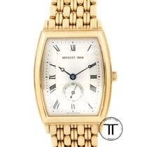 Breguet Yellow gold Automatic White Roman numerals 35mm pre-owned Héritage