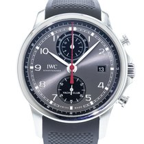 IWC Portuguese Yacht Club Chronograph Steel 43.5mm Grey United States of America, Georgia, Atlanta