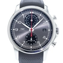 IWC IW3905-03 Staal 2010 Portuguese Yacht Club Chronograph 43.5mm tweedehands