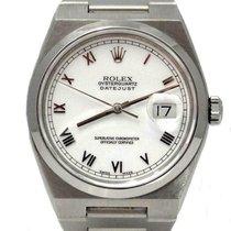 Rolex Datejust Oysterquartz Otel 36mm Alb