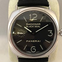 Panerai Radiomir Black Seal Staal 45mm Zwart Arabisch Nederland, Kerkrade