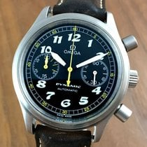 Omega Dynamic Chronograph pre-owned 38mm Black Chronograph Leather