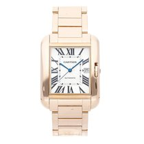 Cartier Tank Anglaise Rose gold 47mm Silver Roman numerals United States of America, Pennsylvania, Bala Cynwyd