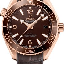 Omega Seamaster Planet Ocean Rose gold 39.5mm Brown United States of America, Florida, Sunny Isles Beach