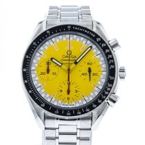 Omega Speedmaster Reduced Steel 39mm Yellow