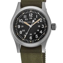 Hamilton Khaki Field Steel Black Arabic numerals United States of America, New York, Brooklyn