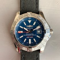 Breitling Avenger II GMT Steel 43mm Blue United States of America, North Carolina, NEW BERN