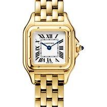 Cartier new Quartz 25mm Yellow gold