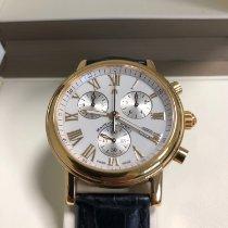 Maurice Lacroix Les Classiques Chronographe gebraucht 40mm Schwarz Chronograph Datum Dornschließe