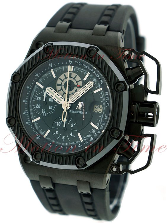 Audemars piguet royal oak offshore survivor black dial for price on request for sale from for Royal oak offshore survivor