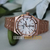 Audemars Piguet Royal Oak Lady Pозовое золото 37mm Cеребро Без цифр