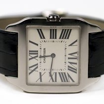 Cartier Santos Dumont W2007051 Very good White gold 34mm Manual winding United States of America, New York, Greenvale