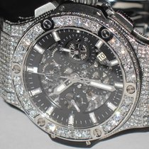 Hublot Big Bang Aero Bang Chronograph Skeleton Diamonds