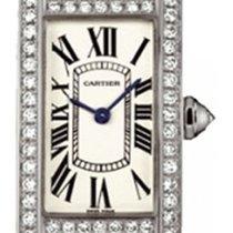 カルティエ (Cartier) Tank Americaine Ladies' Watch 18K White...