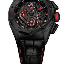 Cvstos Challenge-R50 HF Concept Men's Watch, Black Steel,...
