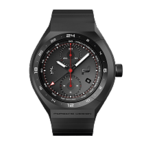 保时捷 MONOBLOC ACTUATOR 24H-Chronotimer Black & Rubber