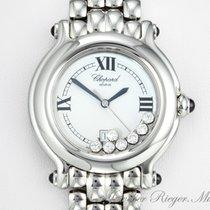 Chopard Happy Sport Medium Stahl Diamanten Brillanten  27/8236