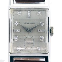 Longines White gold 35mm Manual winding pre-owned United States of America, Florida, Boca Raton