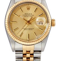 Rolex Datejust Gold/Steel 36mm Champagne India, Punjab