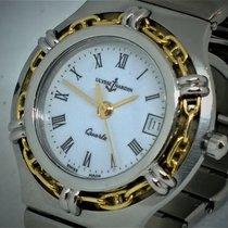 Ulysse Nardin rare  gold / steel model, serviced, all original