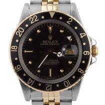 Rolex Vintage Rolex 1981 GMT-Master Black Nipple 16753 40mm...