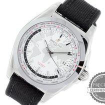 Breitling Galactic Unitime Steel 44mm White No numerals United States of America, Pennsylvania, Willow Grove