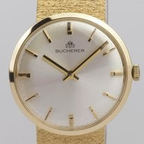 Carl F. Bucherer Gult gull 34mm Manuelt 1211 brukt