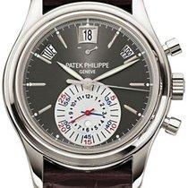 Patek Philippe Annual Calendar Chronograph Platinum 40.5mm Grey No numerals United Kingdom, London