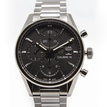 TAG Heuer CBK2110.BA0715 Staal Carrera Calibre 16 41mm