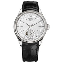 Rolex Cellini Dual Time White gold 39mm Silver No numerals United States of America, New York, New York