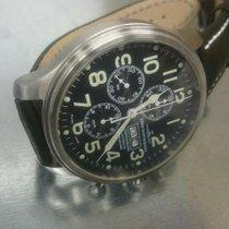 Zeno-Watch Basel Stahl 47,5mm Automatik 8557TVDD gebraucht Deutschland, Radolfzell