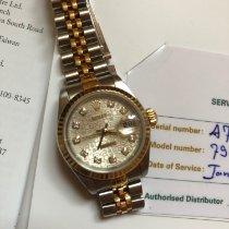 Rolex Lady-Datejust Goud/Staal 26mm Parelmoer Arabisch Nederland, Eindhoven