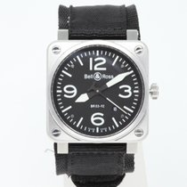 Bell & Ross Steel 42mm Automatic BR0392-BLC-ST pre-owned United Kingdom, London
