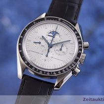 Omega Speedmaster Professional Moonwatch Moonphase Weißgold 42mm Silber Deutschland, Chemnitz