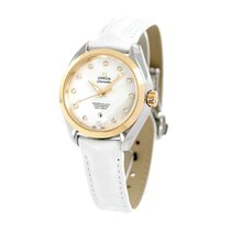 Omega Seamaster Aqua Terra Gold/Steel 40mm White