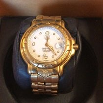 TAG Heuer 6000 Yellow gold Gold No numerals