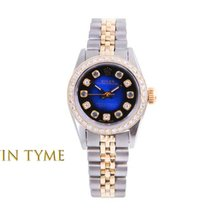 Rolex Oyster Perpetual Gold/Steel 24mm Blue United States of America, California, Los Angeles