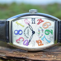 Franck Muller Steel 32mm Automatic 5850 / Code: 5776 pre-owned