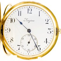 Longines Žluté zlato 48mm 2480613 použité