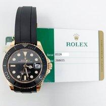 Rolex Yacht-Master 37 Ruzicasto zlato 37mm Crn Bez brojeva