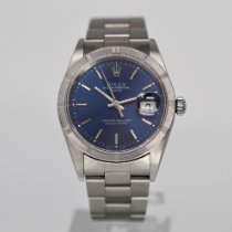 Rolex Oyster Perpetual Date Steel 34mm Blue No numerals United States of America, Florida, Miami Beach