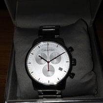 ck Calvin Klein pre-owned Quartz 43mm Silver Mineral Glass 5 ATM
