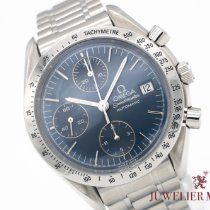 Omega Speedmaster Date Steel 39mm Blue